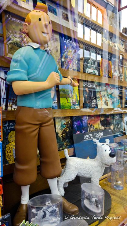 Tintin y Milu - Bruselas por El Guisante Verde Project