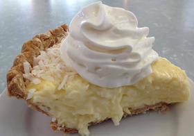 Great Grandma's Coconut Cream Pie