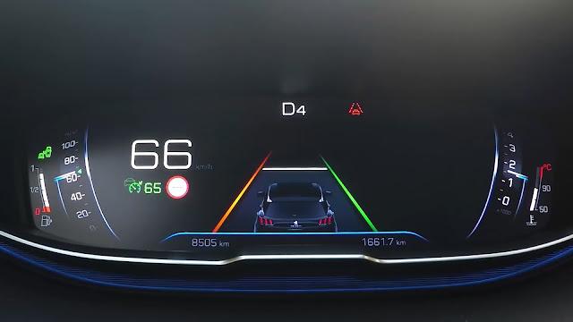 Peugeot Active Lane Departure Warning System