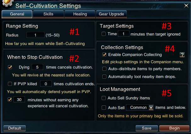 Swordsman Online Self Cultivation: General