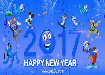 2017 New Year Joyous Quotes