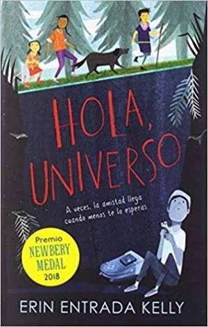 Libro infantil juvenil Hola, universo