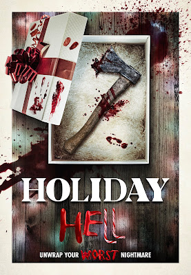 Official poster art for HOLIDAY HELL!