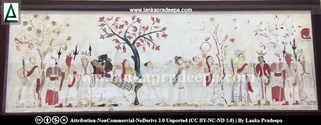 The Telapatta Jataka painting