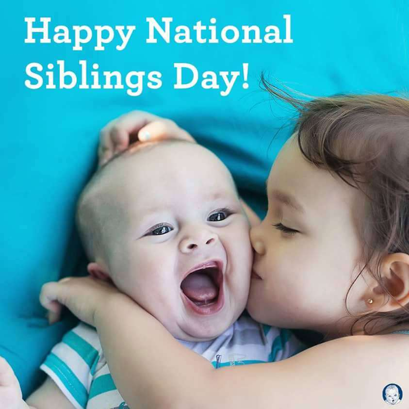 National Siblings Day Wishes Photos