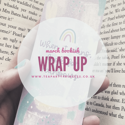 March 2021 Bookish Wrap Up stats