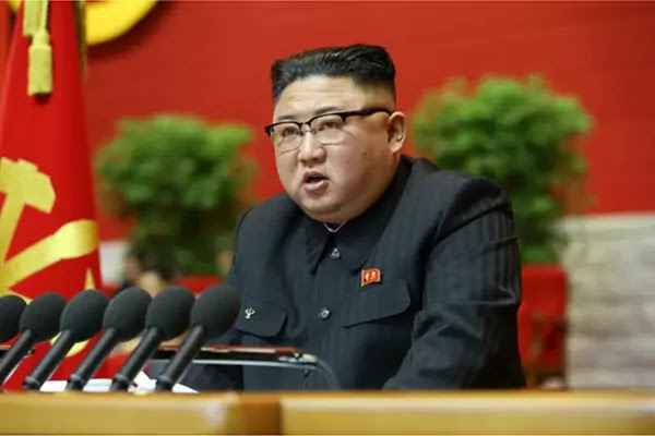 Kim Jong Un Starts Report at WPK 8th Congress, January 5, 2021