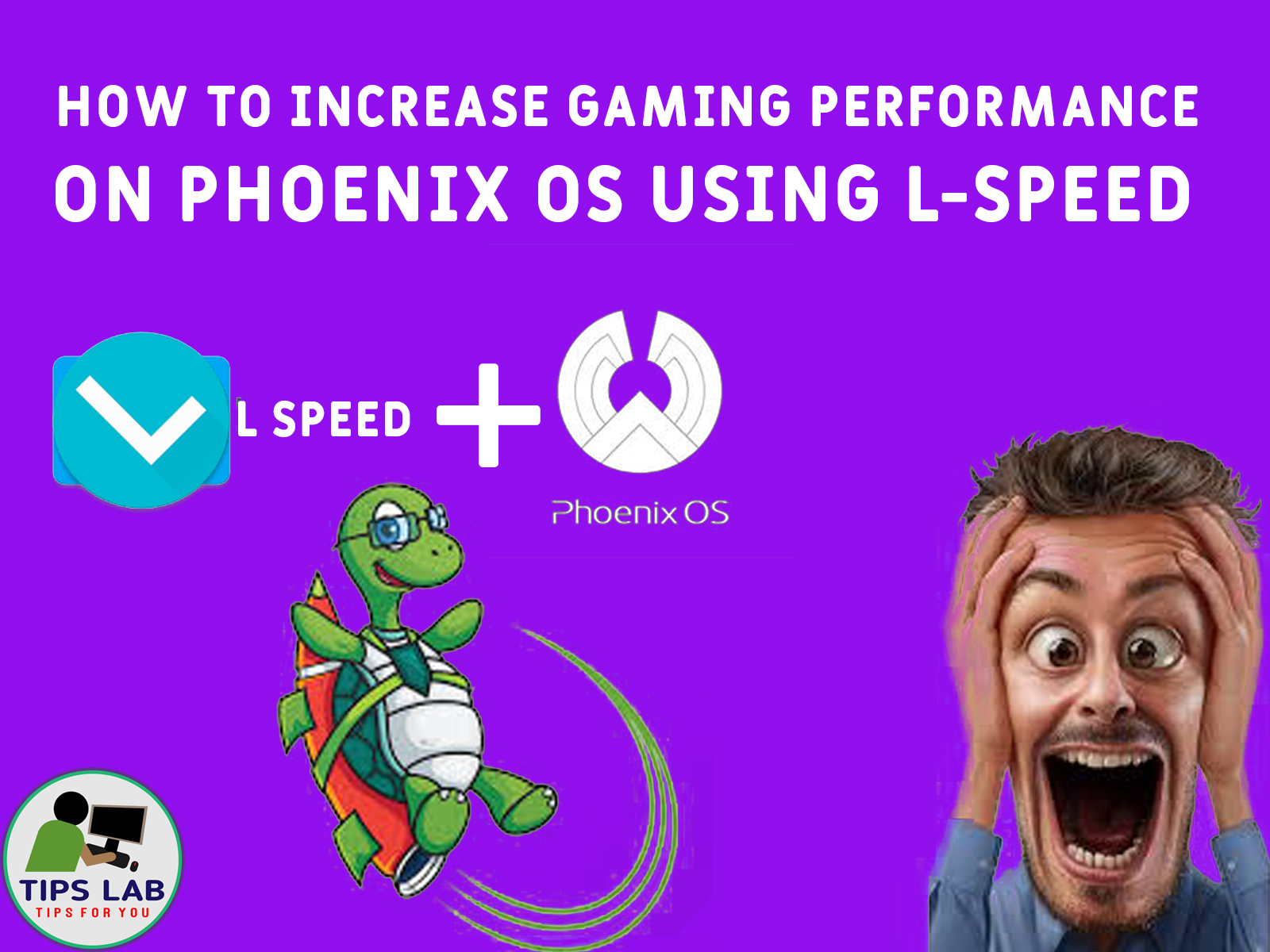 How To Increase Gaming Performance in Phoenix OS Using LSpeed