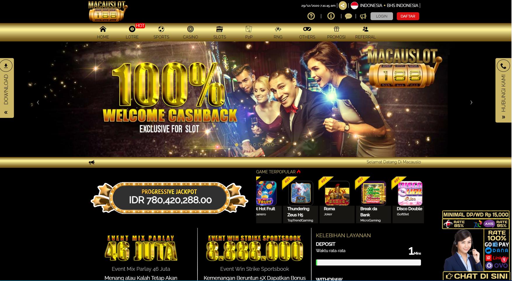 Macauslot188 Situs Slot Spadegaming Bank Bri 24 Jam Profile Egg Hatch Now Com Forum