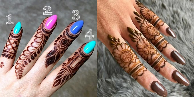 55+ Mehndi or Henna for Fingers Designs | Mehndi Creation