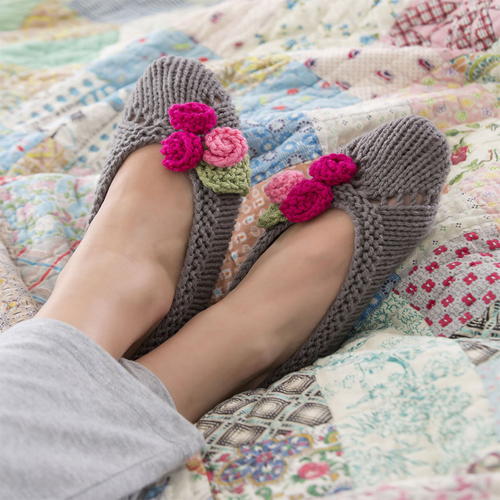 Slippers for Her - Free Pattern