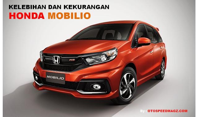 Kelebihan dan Kekurangan Honda Mobilio 2019