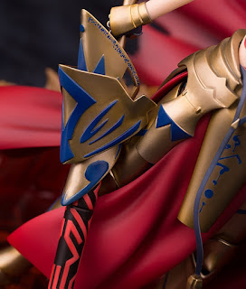 Archer/Gilgamesh empuña a su espada EA en esta nueva figura de Myethos.