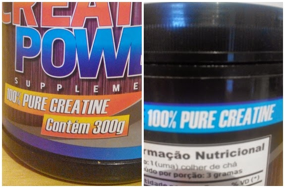 Creatina Power Supplements Relato