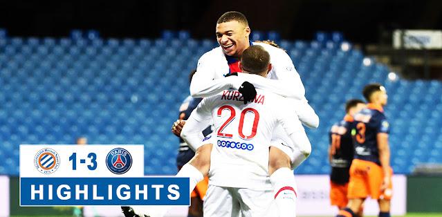 Montpellier vs Paris Saint Germain – Highlights