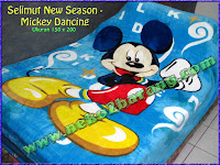 Selimut New Season - Mickey Dancing