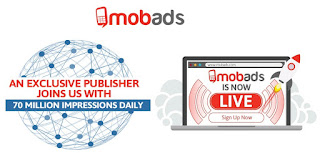 MobAds - publicidad para monetizar el tráfico móvil