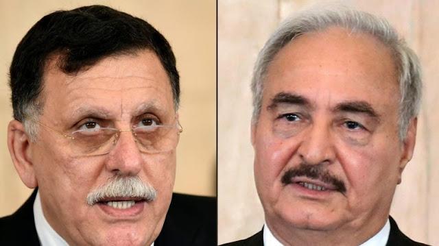 النظام التركي يهدد بغزو ليبيا بعد رفض حفتر الإتفاق على وقف إطلاق النار في موسكو