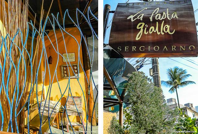 Restaurante italiano La Pasta Gialla, Salvador