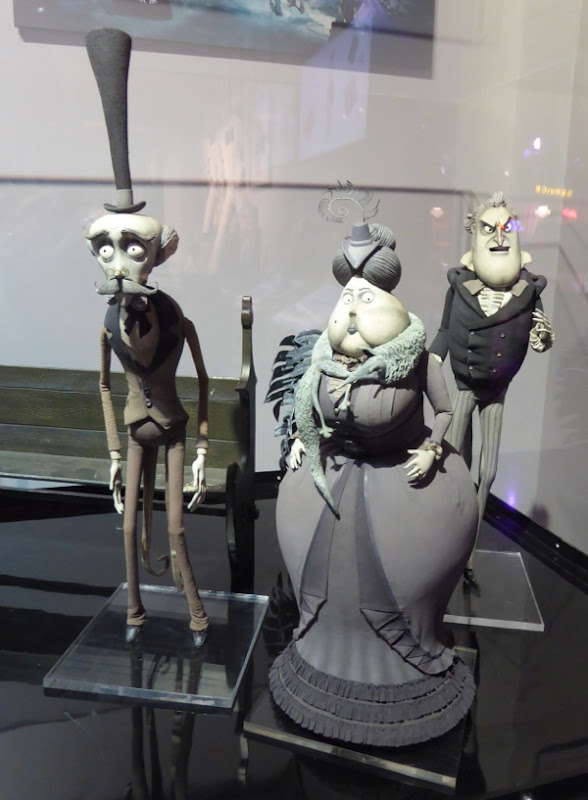 Corpse Bride stopmotion animation puppets