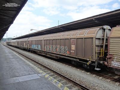 Wagony kryte serii Habbiinss kolei austriackich, Czech Raildays 2018
