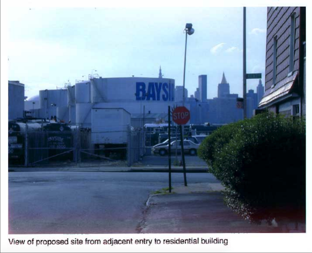 old street view of bayside fuel oil depot