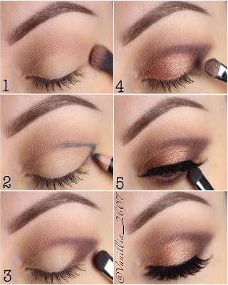 maquillaje de ojos sobrio de moda