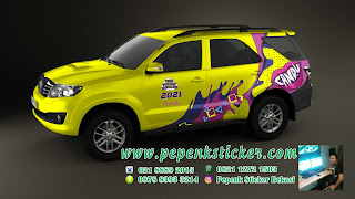 Decal fortuner