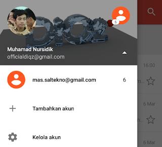 mengecek email