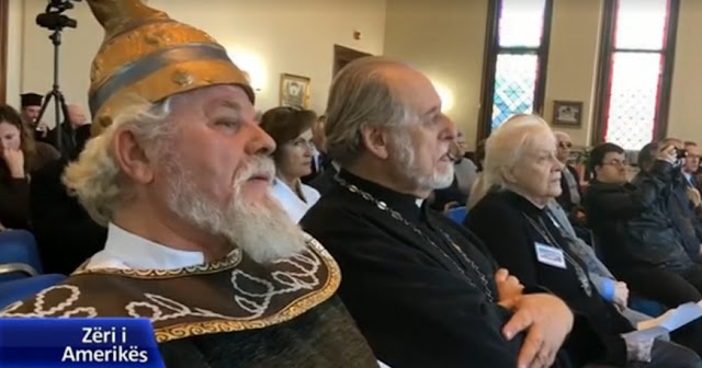 Boston: The Albanian Orthodox Church honors Skanderbeg and Noli