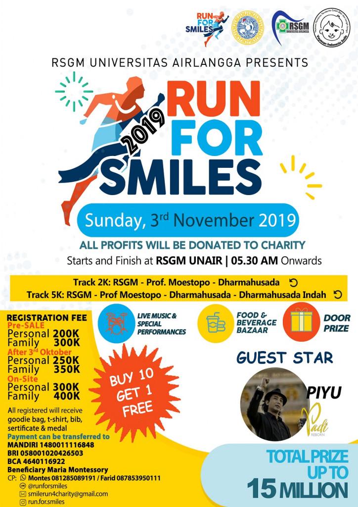 Run For Smiles • 2019