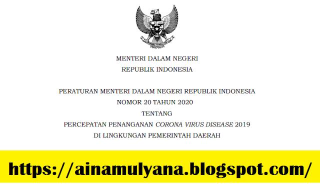 Permendagri Nomor 20 Tahun 2020