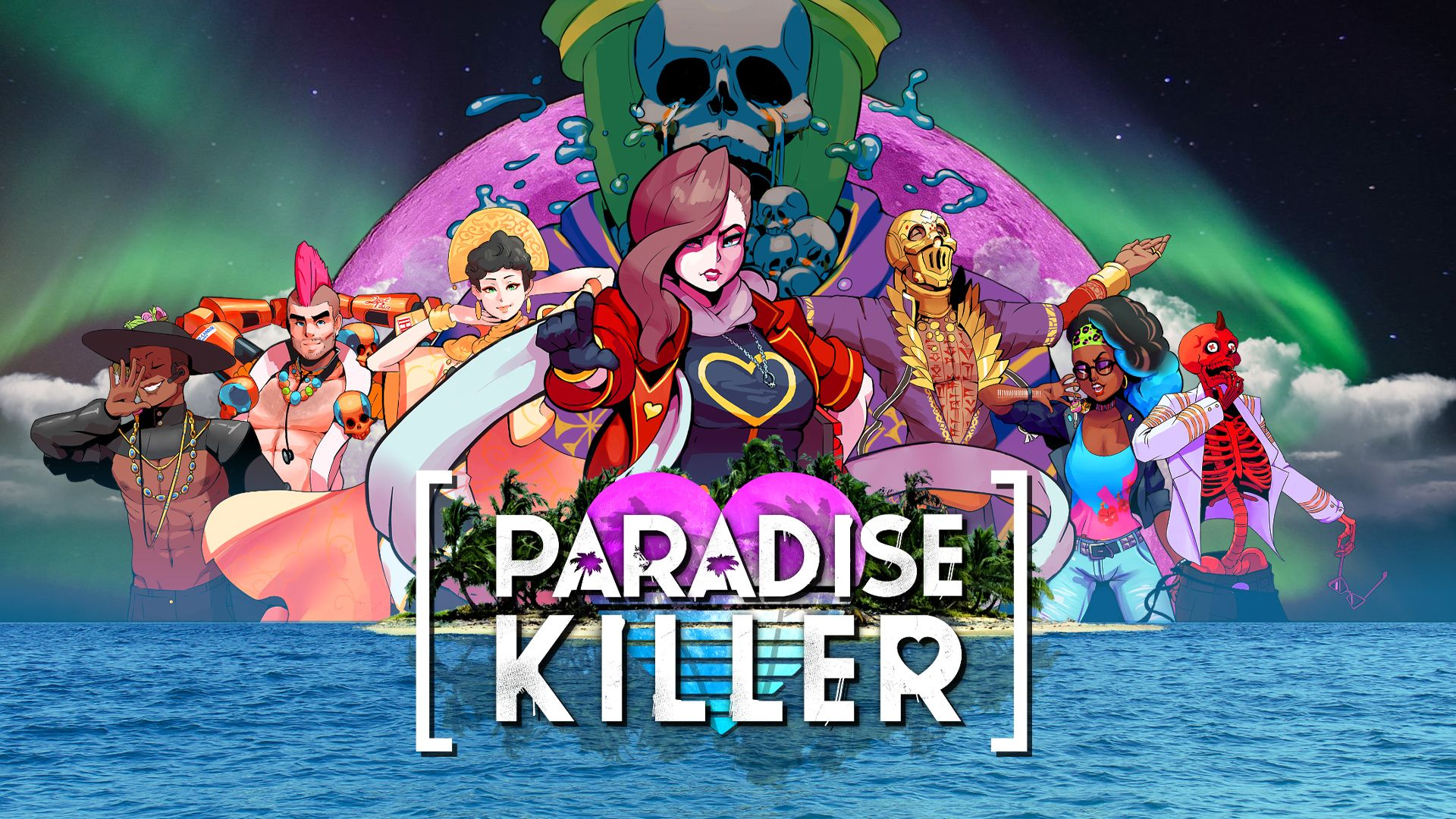 Paradise Killer v1.0.8 NSP XCI For Nintendo Switch