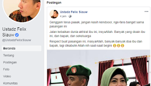 Felix Siauw Dukung Istri TNI yang Nyinyir ke Wiranto