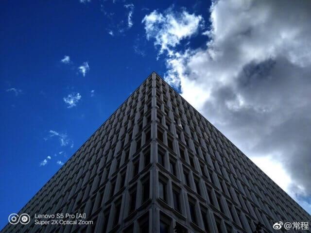 Lenovo S5 Pro Sample Photo - Building and Sky