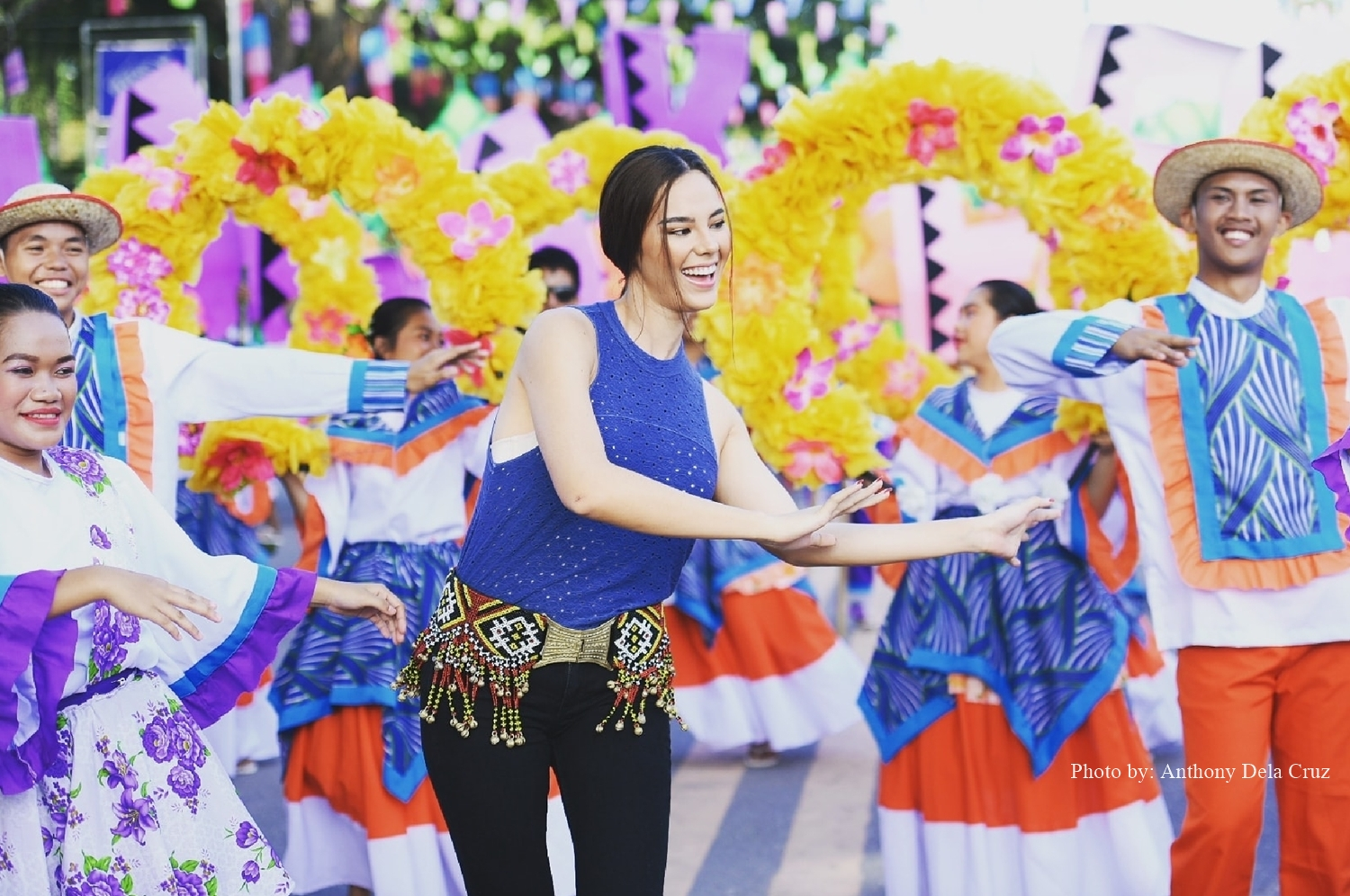 Catriona Gray experienced Tnalak Festival last July 2018