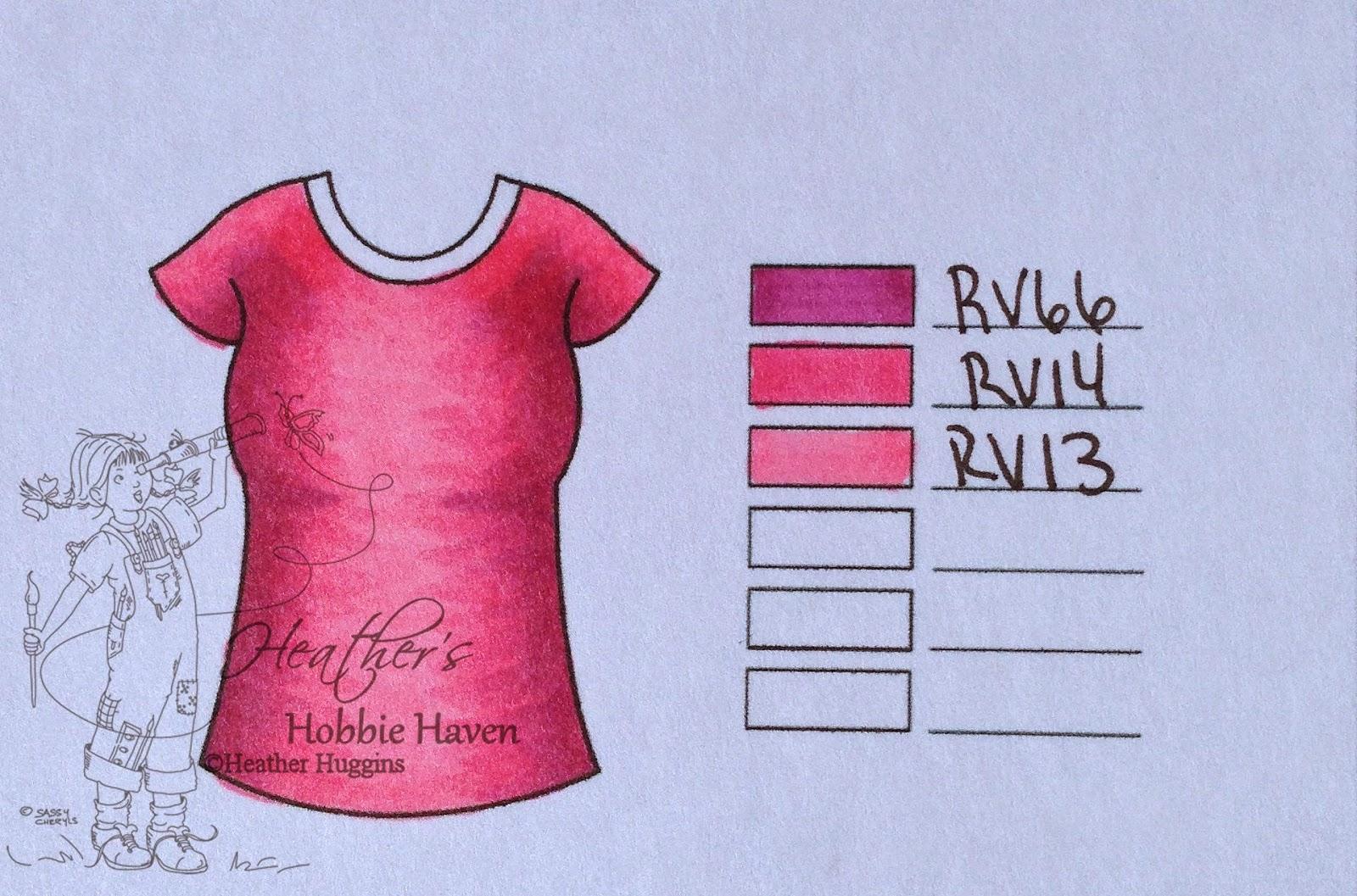 Heather's Hobbie Haven - Copic Color Combo