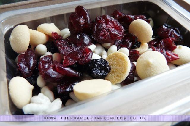 graze box snack - summer pudding