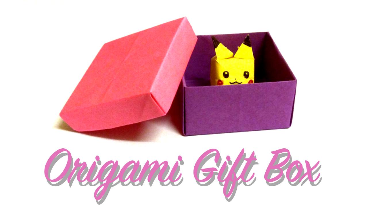 Yoshinys Design How To Make An Origami Gift Box
