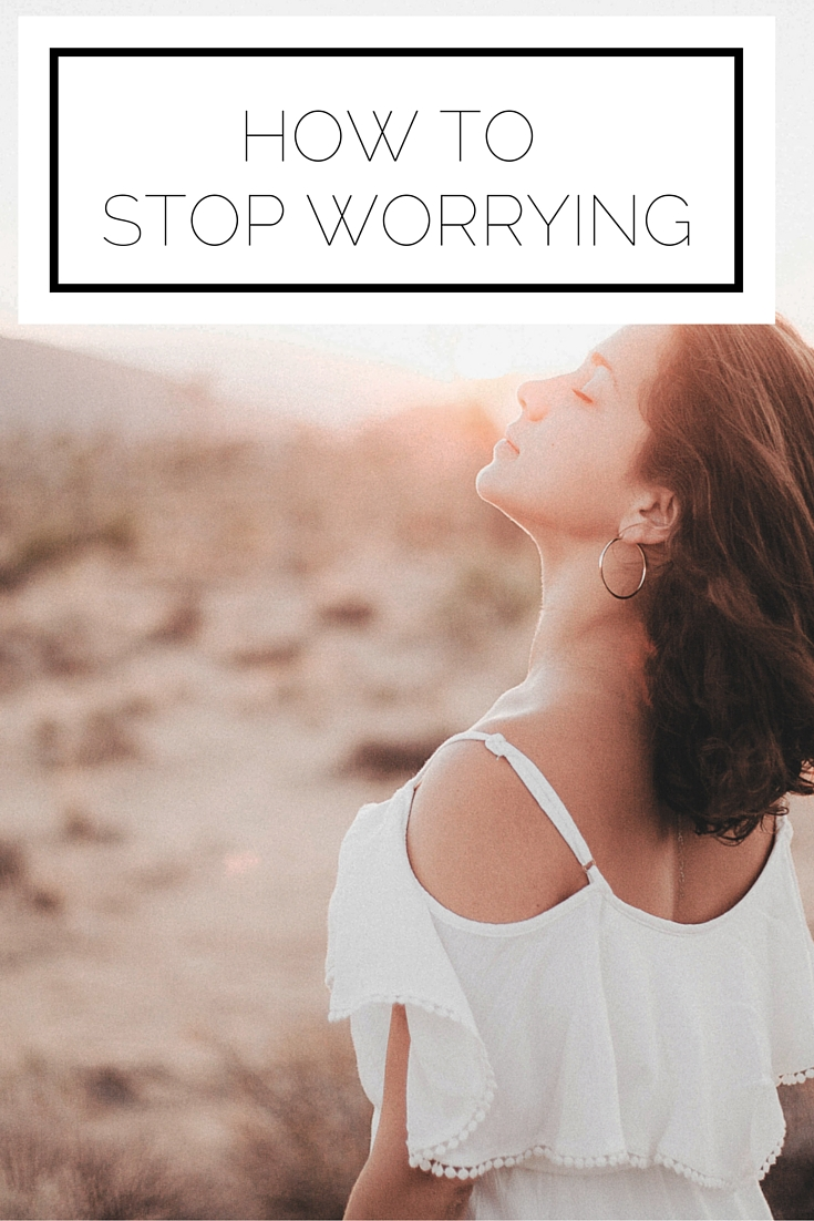 Click to read now or pin to save for later! Find yourself worrying on the regular? Here's how to stop worrying in its tracks