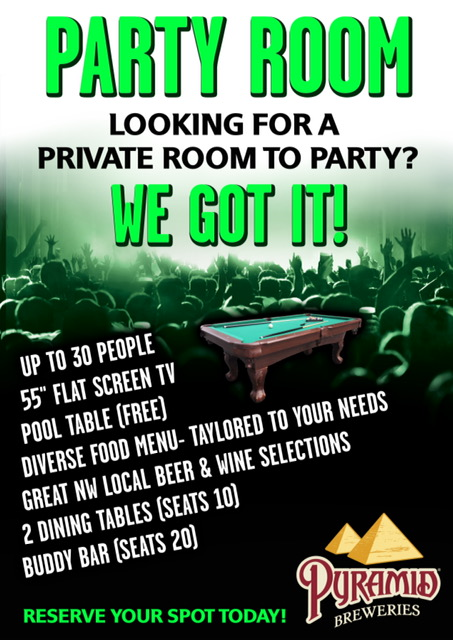 Rent A Party Room Seattle
