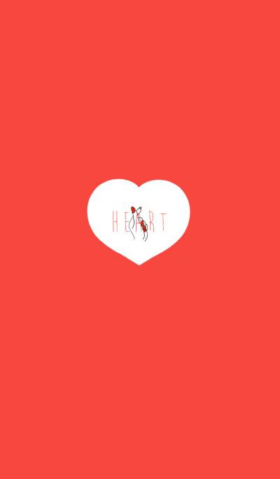 Finger heart theme