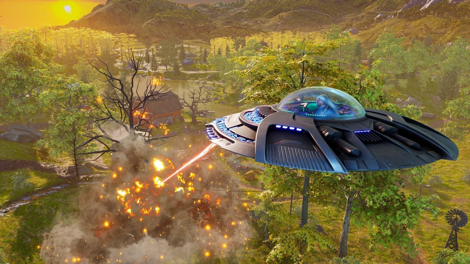 Рецензия на игру Destroy All Humans! - ремейк комедии про злобного пришельца Крипто-137 - 02