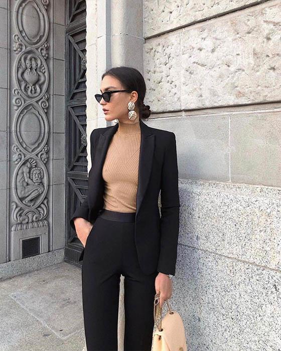 outfit formal para el trabajo