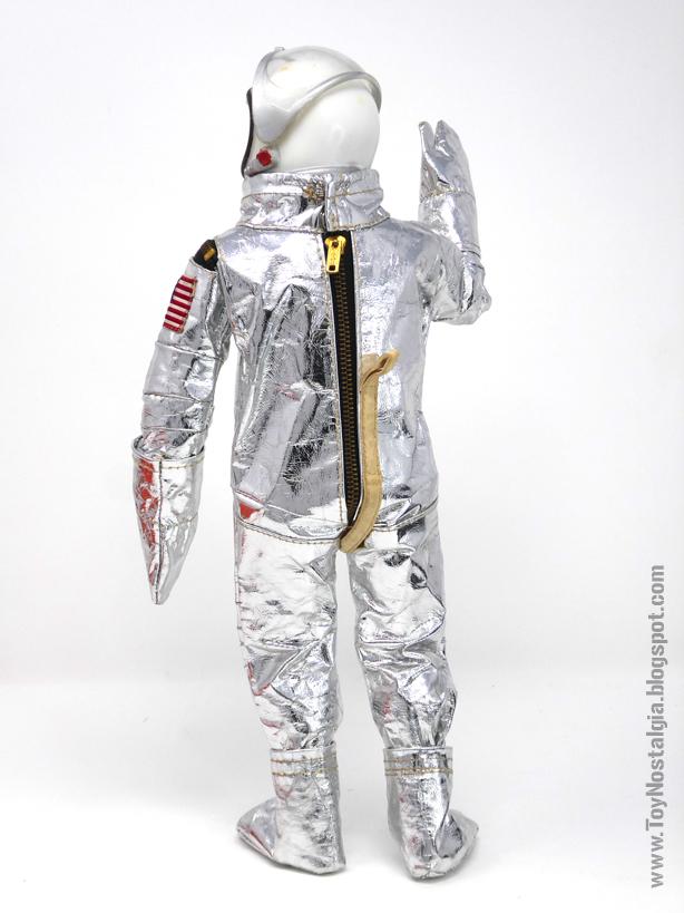 ACTIONMAN Astronaut - MERCURY mission space suit (ACTION MAN ASTRONAUT  HASBRO-PALITOY)
