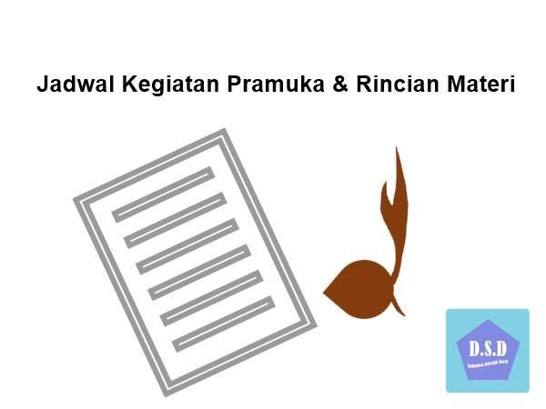 Contoh Jadwal Kegiatan Pramuka & Rincian Materi