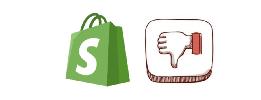 Shopify cons