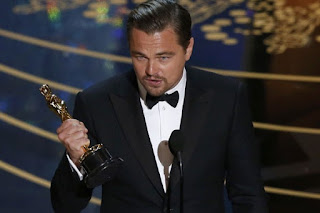 citisfm-Leonardo DiCaprio bahas perubahan iklim di Oscar