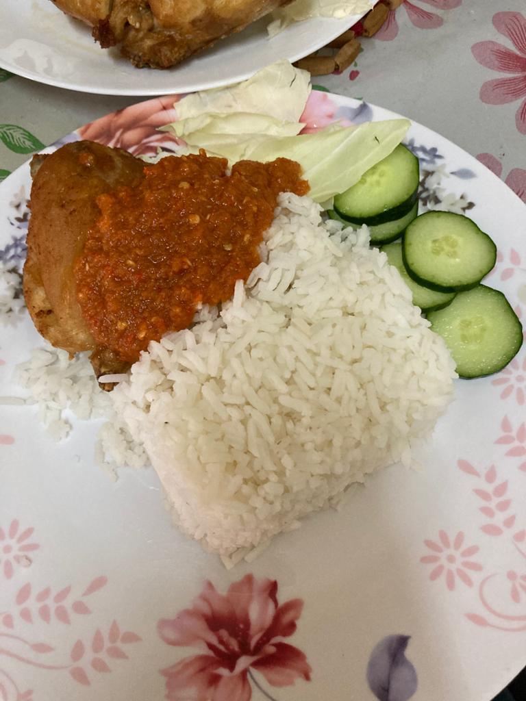 Resepi Masak Nasi Ayam Penyet