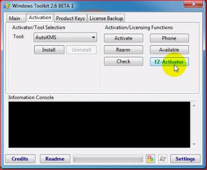 microsoft toolkit 2.6 beta 5 password